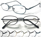 L80 Classic Style Reading Glasses/Spring Hinges/Anti-Scratch Lens/Aspheric Lens