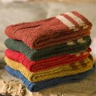 5 Pairs Lot New Womens Cashmere Wool Thick Warm Socks Winter  Striped Design