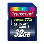 Transcend TS32GSDHC10 32GB SDHC Class 10 Memory Card