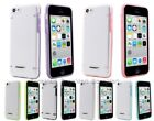 BONAMART Slim TPU PC Glow in the Dark Luminous Hard Bumper Case f iPhone 5C