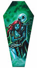 Jack & Sally by Joey Rotten Nightmare Before Christmas Coffin Canvas Art Print