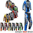 Wulfsport Attack Adult Race Motocross Jersey Pants Set Motorbike Suit S-XL