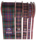 Cameron of Erracht Tartan Ribbon - various widths, cut lengths and 20m reels