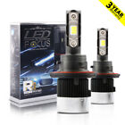 80W 8000LM CSP LED Headlight Kit H13 9008 High/Low 6000K XENON White Bulbs X2