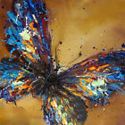 """20*20"""" Abstract Art Canvas Oil Painting Butterfly Hand-painted (NO Frame)"""