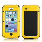 Waterproof Shockproof Gorilla Glass Metal Case for iPhone 4S W/Free USB Cable