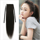 wholesale Low Price Charming ponytail clips-on remy human hair extensions 100g