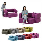 Poppy Sofa Bed Versatile Foam Easy Flip 2 Seater Apartment Loft Hinge Design