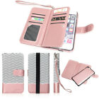 Luxury Leather Card Wallet Flip Case Cover for Apple iPhone 7 6S Plus