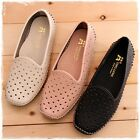 BN Soft Padded Casual Work Walking Ballet Loafer Flats Shoes BEIGE PINK BLACK