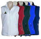 UNISEX POLAR LAWN BOWLS FLEECE VEST BOTTLE MAROON ROYAL WHITE NAVY BRAND NEW