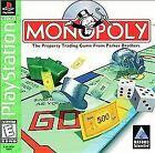 Monopoly  (Sony PlayStation 1, 1998) - Black Label - COMPLETE