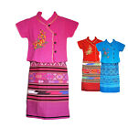 Children's Thai Traditional Sets - Top Skirt - Two-piece - Weddings - Christmas