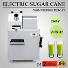 Electric Sugar Cane Juicer 20RPM Big Capacity Desktop Juice Sweet Sorghum 1HP