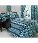 BUMPER SET - Duvet/Quilt Cover, 2 Pillowcases, Curtains+Tiebacks, Cushion cover
