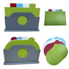 Kitchen Tools Chopping Gadget Large Cutting Board Set Plastic Color Coated Oval