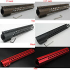 Red/Black/Tan Clamping 15''/13.5'' Keymod Handguard Free Float Slim HandGurad