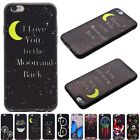Soft TPU Fashion Rubber Shockproof Back Case Cover For Apple iPhone 6 6S 6Plus