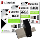 Kingston Data Traveler Micro Duo USB 3.0  ON-THE-GO 16GB 32GB 64GB DTDUO3