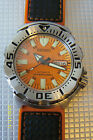 Watch Mod: Seiko SKX013 Watch Made Into A Medium Orange Seiko Monster, For Sale Sales & Auctions