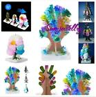 Magic Growing Crystal Tree Kit Christmas Paper Decoration Science Toy Great Gift