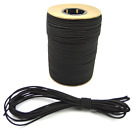 "5/32"" Black Bungee Cord Marine Grade Heavy Duty Shock Rope Tie Down Stretch Band"