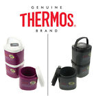 3 Thermos Stack N Lock Stackable Containers Insulated Food Storage 24oz BPA Free