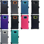 Shockproof Case For Samsung Galaxy Note 5 (Fits Otterbox Defender Belt Clip)