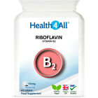 Health4All Vitamin B2 Riboflavin 100mg Tablets | Migraine attacks | Headache £6.99 GBP on eBay