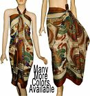 Lovely Beach Scarves Pareo Sarong Wrap Bikini Multi Color Printed SUS 07* Series