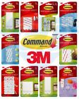 3M COMMAND Strips Large, Medium, Small For Damage Free Picture / Poster...