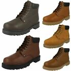 Mens Truka Lace Up Safety Work Boots - MAL66