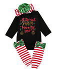 Newborn Baby Boys Girl Tops Romper Pants Multi Style Outfits Set Cotton Clothes
