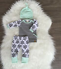 Newborn Baby Boys Girl Tops Romper +Pants Multi Style Outfits Set Cotton Clothes