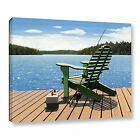 Fishing Chair' Gallery wrapped Canvas Art Print