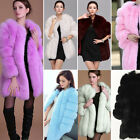 Luxury Women Warm Winter Faux Fur Hooded Parka Coat Overcoat Long Jacket Outwear