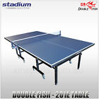 DOUBLE FISH - TABLE TENNIS TABLE - 201E TABLE - POST & NET - 4 BATS & 6 BALLS