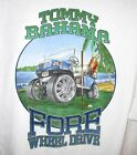 TOMMY BAHAMA FORE WHEEL DRIVE TRICKED OUT GOLF CART  COCONUT WHITE  MED=LARGE