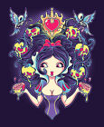 Poisoned Mind by Jehsee Snow White Princess Poison Apple Canvas Fine Art Print
