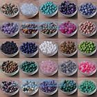 NEW Natural Gemstone Stone Round Loose Spacer Beads 4mm~14mm Jewelry Findings