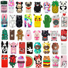 Cute 3D Cartoon Animals Silicone Soft  Case Cover Back Skin For iPhone5 6 6Plus