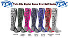 TWIN CITY DIGITAL CAMO OVER THE CALF SPORTS SOCKS SOCCER BASKETBALL VOLLEYBALL