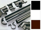 PLASTIC HALF ROUND GUTTER GUTTERING DOWNSPOUT PIPE & FITTINGS VARIOUS COLOURS