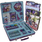 138pc Art Supplies Kit for Kids Set Gift Tin Case Box Lot Disney Arts and Crafts