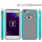 Shockproof Armor Heavy Duty Tough Hybrid Rugged Hard Case Back Cover For iPhone