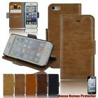 iPhone Leather Cover Wallet Case for iPhone 5 5s 5c 6 6s 6s Plus Fast Shipping