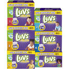LUVS Ultra Leakguards Disposable Diapers Size 1, 2, 3. 4. 5, 6 CHEAP!!!