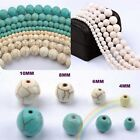Wholesale Natural Gemstone Turquoise Round Spacer Loose Beads  6 8 10 12 14mm