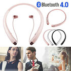 Bluetooth Headset Sport Stereo Neckband Wireless for LG iPhone Samsung Andriod