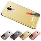 4 Colors Mirror Back Cover Hard Metal Aluminum Frame Case For Huawei Mate 9 M9